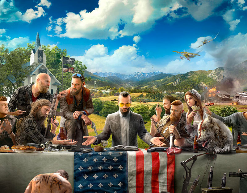 Far Cry 5 - Gold Edition (Xbox One), A Red Gamer, aredgamer.com