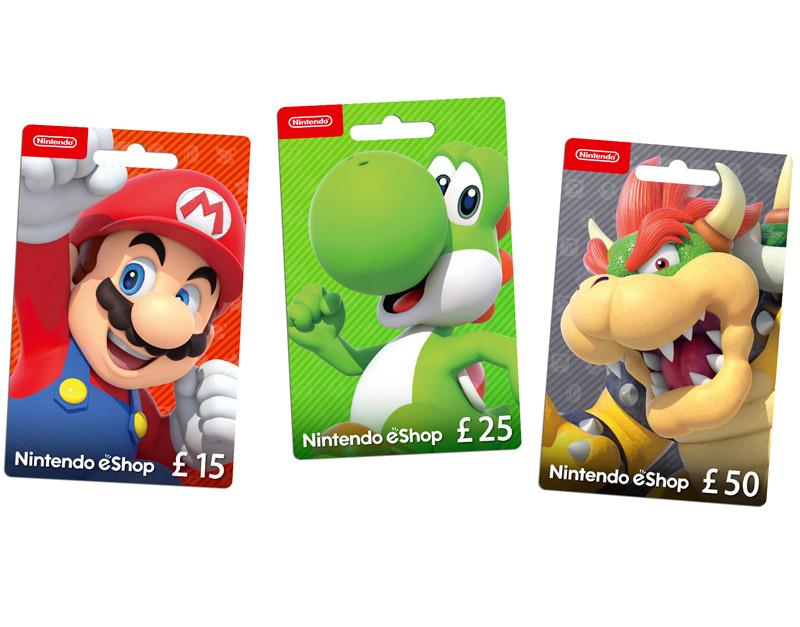 Nintendo eShop Gift Card, A Red Gamer, aredgamer.com