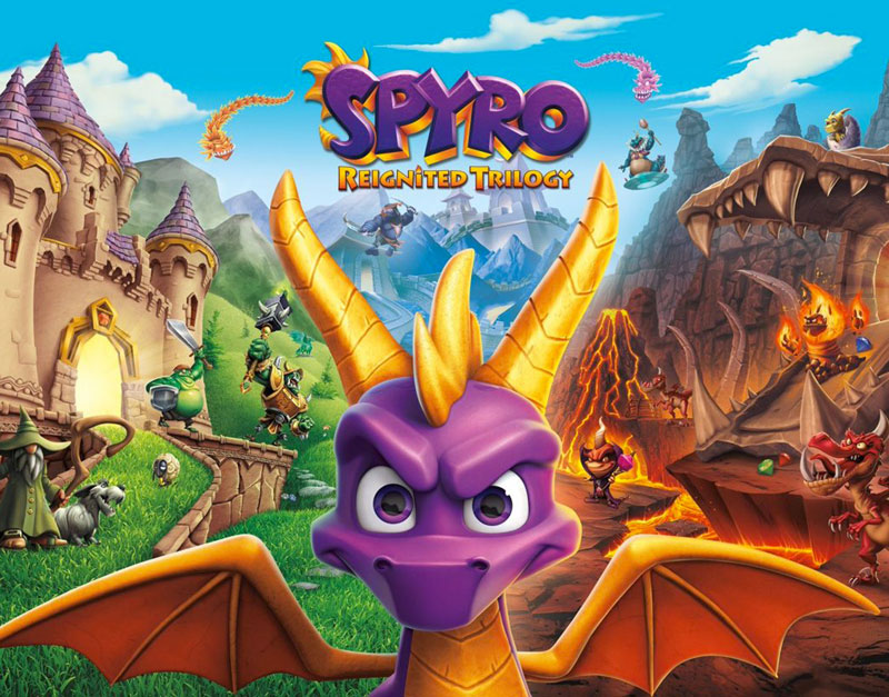 Spyro Reignited Trilogy (Xbox One), A Red Gamer, aredgamer.com