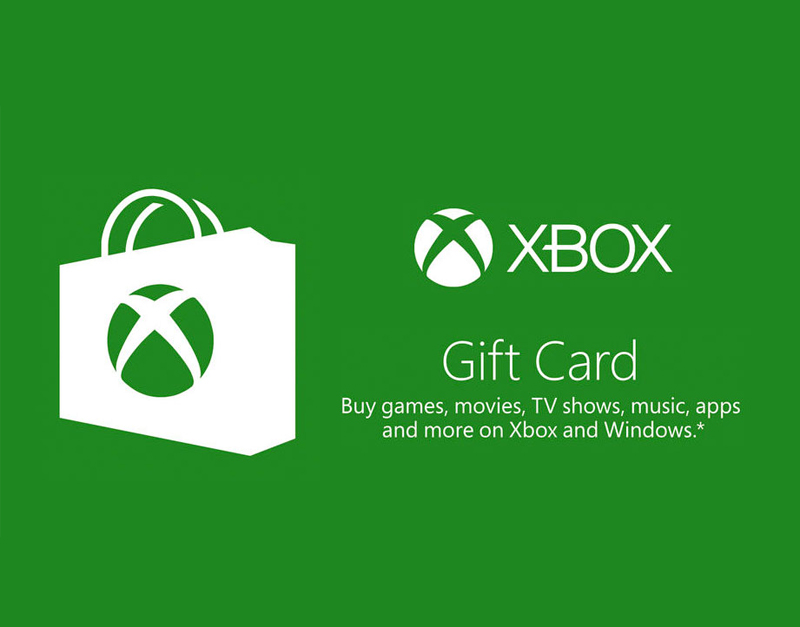 Xbox Live Gift Card, A Red Gamer, aredgamer.com