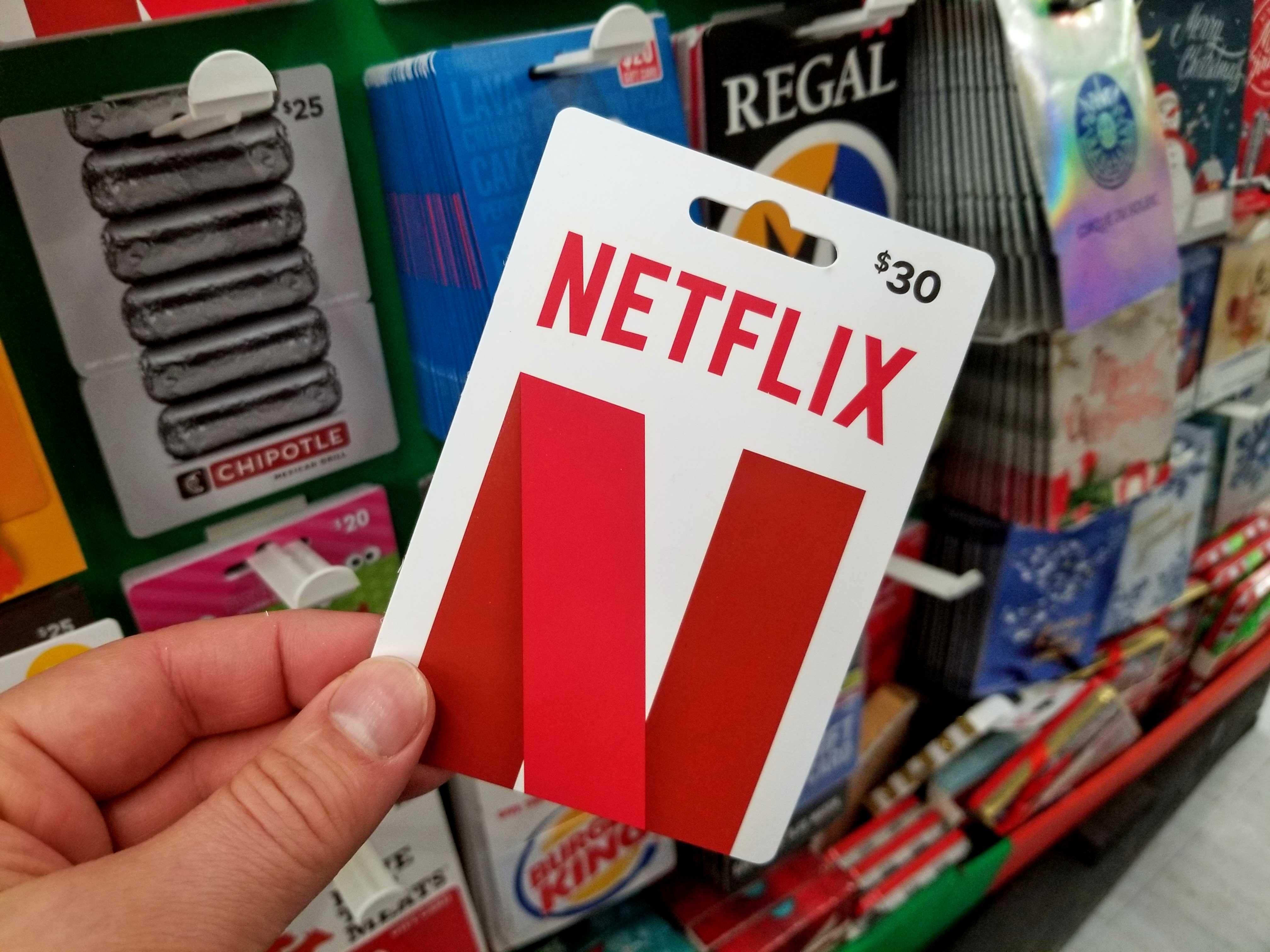 netflix-gift-card, A Red Gamer, aredgamer.com