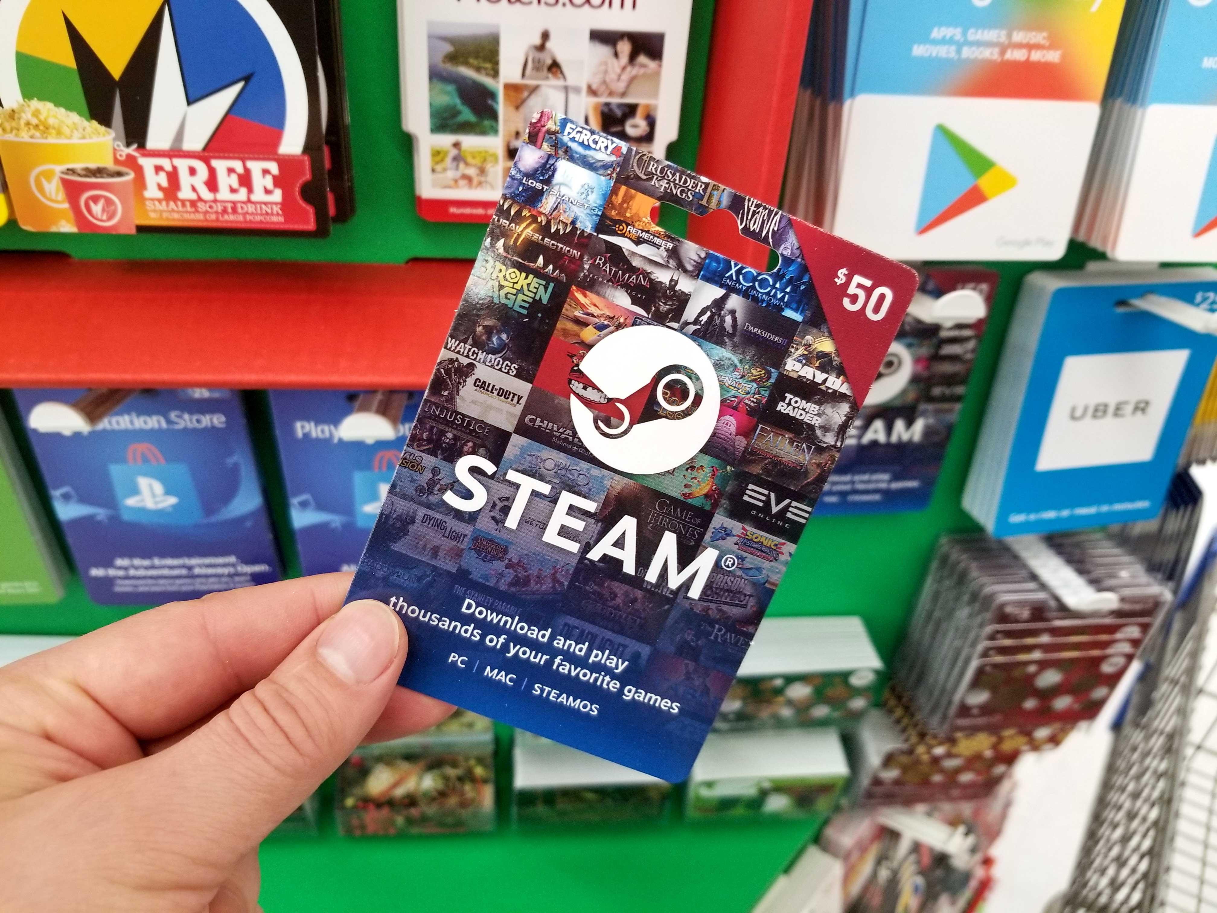 steam-gift-card, A Red Gamer, aredgamer.com